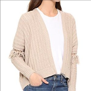 360 SWEATER Brett Italian Yarn Open Knit Sweater